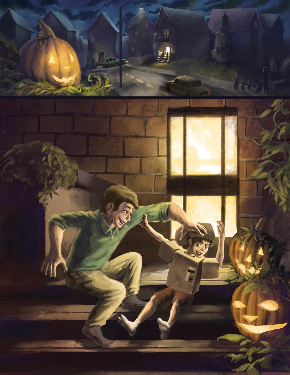 Giacomo the Pumpkin - Introduction