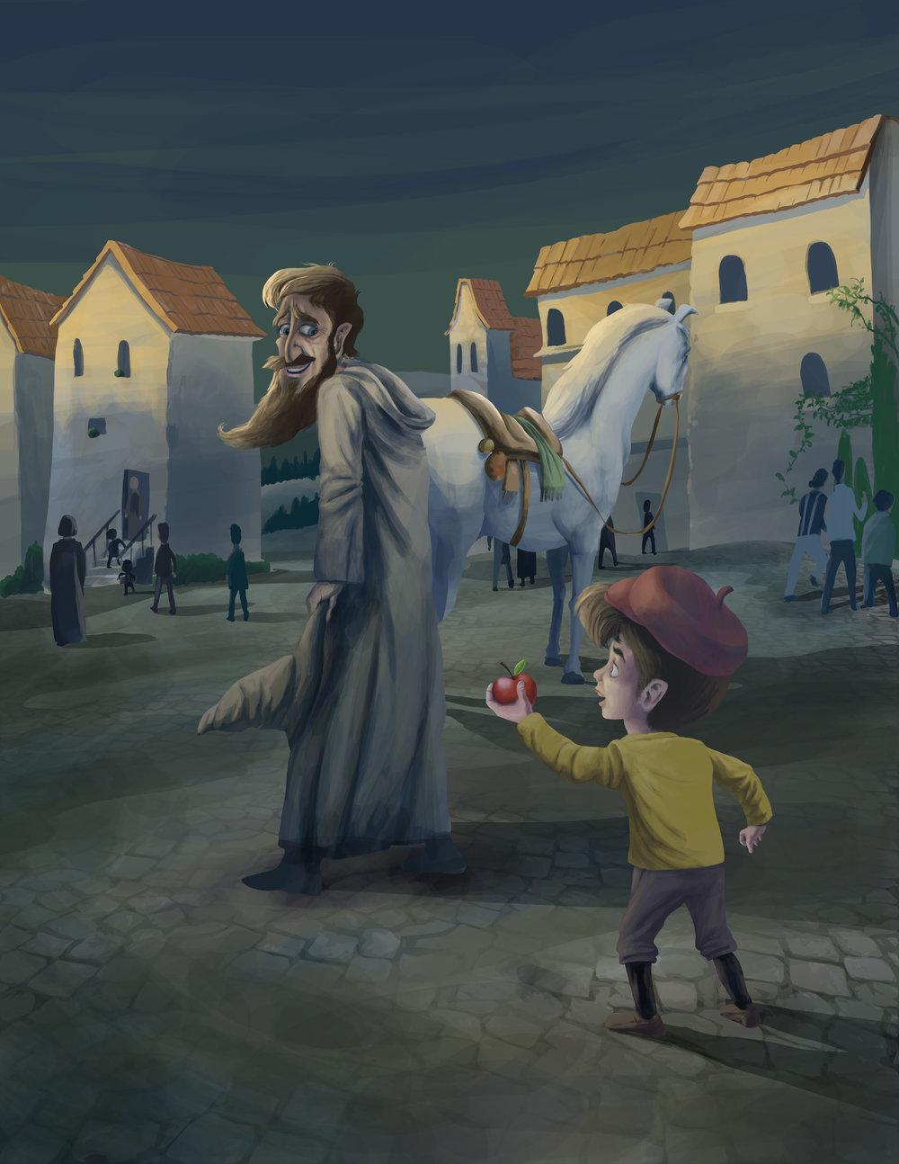 Giacomo the Pumpkin - Help from Anyone
