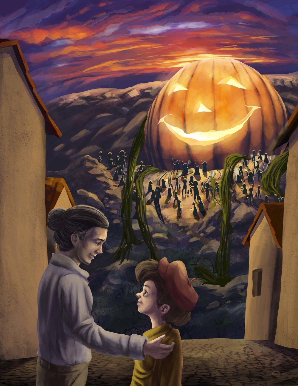 Giacomo the Pumpkin - Giacomo Saves the Day