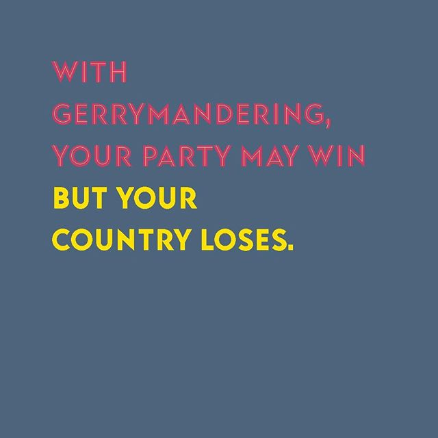 You know what America really needs right now? A little unpartisanship. Just for a day. Or a week. We just need to come together to end gerrymandering so every district is drawn fairly and every vote counts. So then, when you team wins, your can gloat with the extra pride that comes from winning fair and square.⠀ #wisconsin #packers #gopackgo #vote #voting #midterms #republican #democrat #bluewave #independent