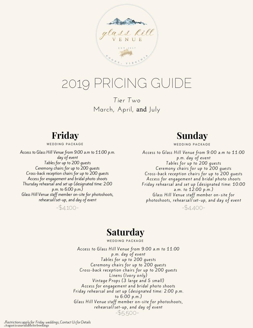 Glass Hill Venue 2019 Price Guide 1.jpg
