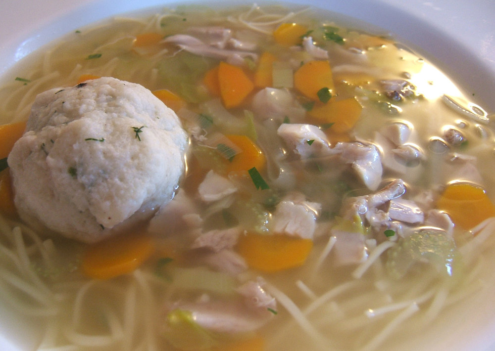 Free matzah ball soup delivery - You read that right too.