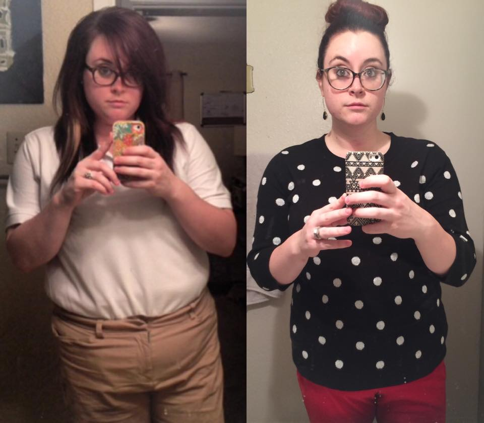 """This was 1 year into my """"weight-loss journey"""" on the former health program I was doing. I lost a total of 30 pounds from start to finish."""