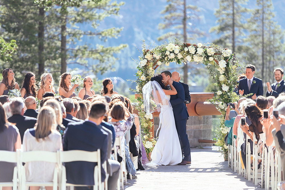 Real Weddings: Kristen & Cole - A Tahoe Wedding
