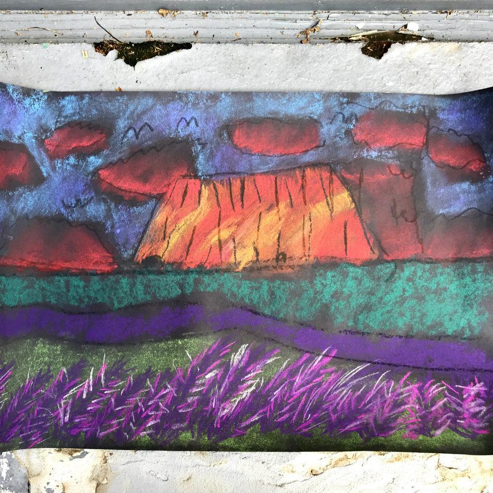 Australia Uluru Landscape