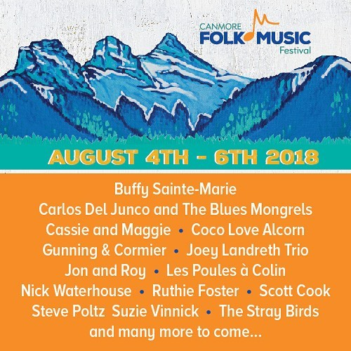 It's been a while since we've been to #Canada... we're very happy to announce they we'll be at the @canmorefolkfestival this August!