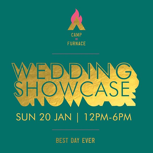 Who's joining us this Sunday at the @campandfurnaceweddings wedding fair? We're super excited to meet so many amazing suppliers & to create one of our stunning bespoke tables. See you at 12pm, Grazers ✨ #TheGrazeSpot