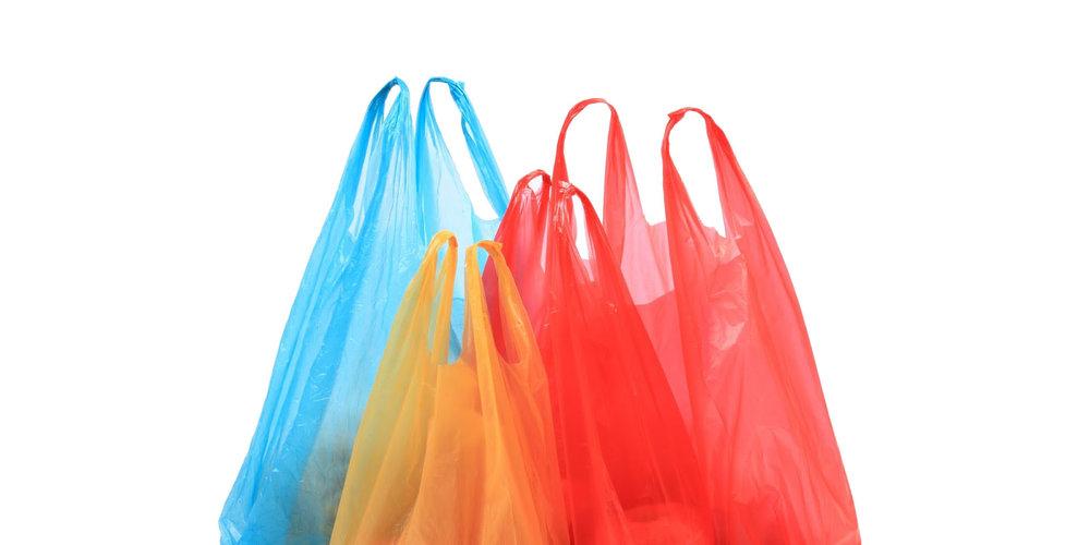 6.Παραλείψτε τις πλαστικές σακούλες -