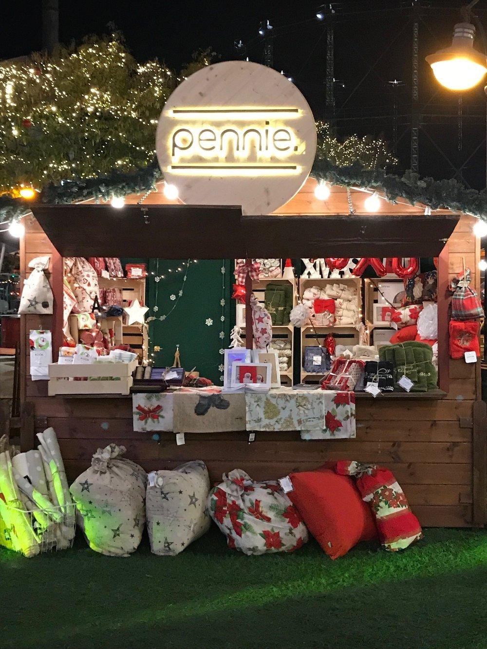 Τα Προϊόντα των Pennie στο The Christmas Factory