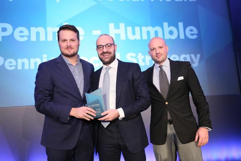 Νέα Διάκριση στα E-volution Awards για την Εταιρεία Pennie!