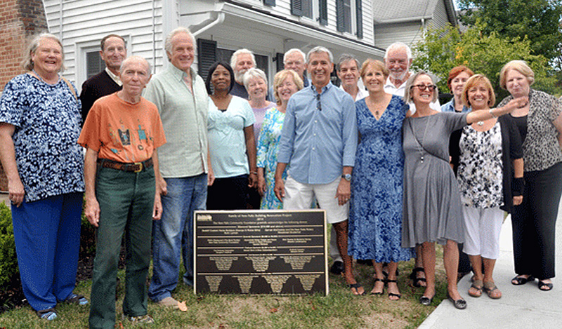 NPCF was a major contributor to the renovation of the Family of New Paltz building.