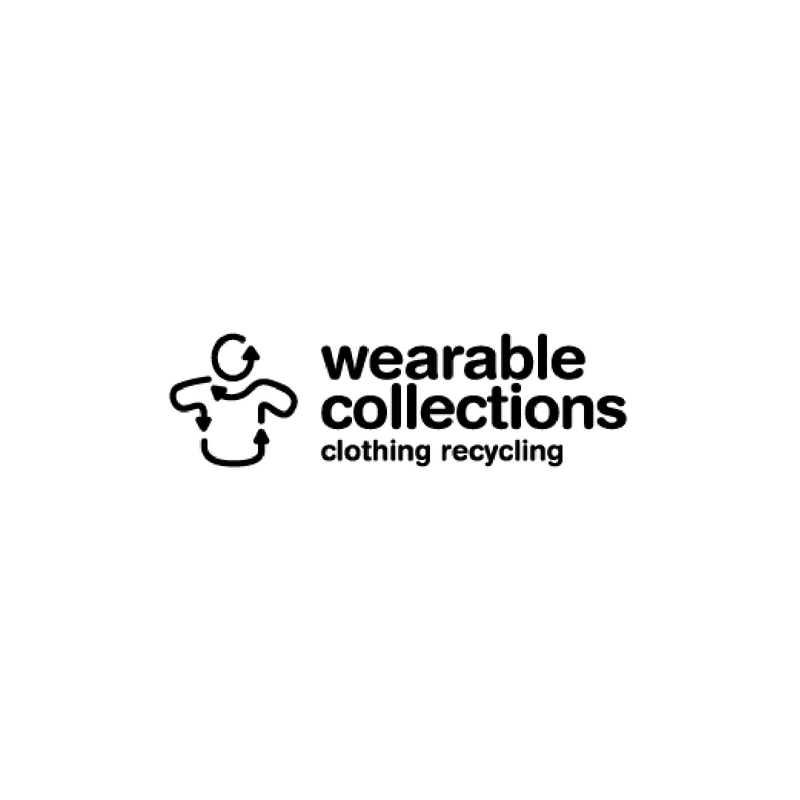 Wearable Collections   Wearable Collections works with us to collect clothes from our textile drives. They either send them to other countries or shred up the fabric for other products, keeping 96% of what they collect out of landfill as a result.
