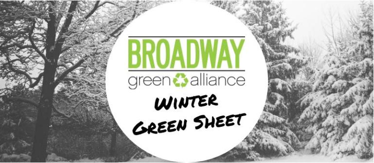 Winter 2016 Green Sheet (Issue 26)
