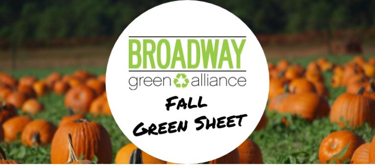 Fall 2008 Green Sheet (Issue 1)