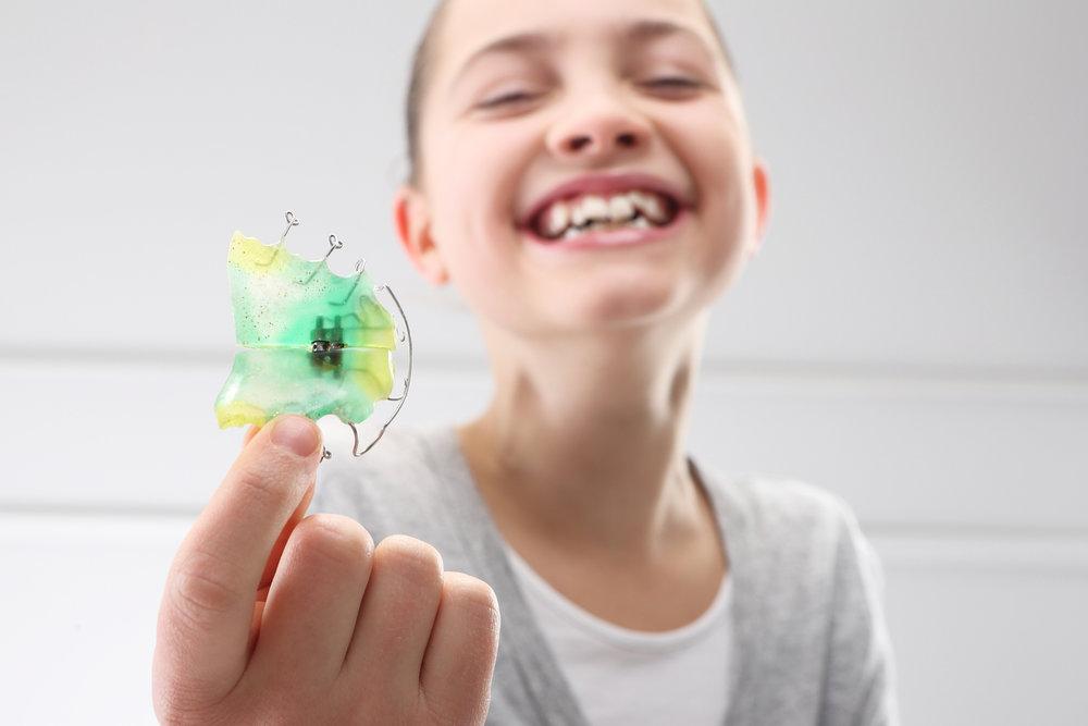 Zahnspange für Kinder