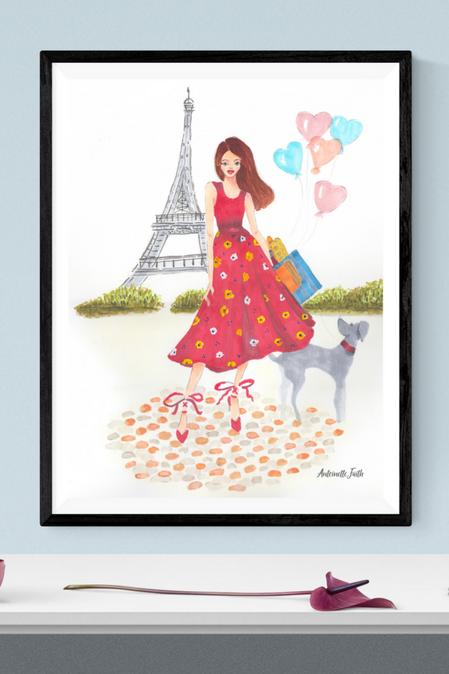 J'adore_Paris_print_AntoinetteFaithLiving