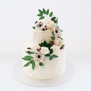 WhiteGold 1 Prettiest Wedding Cake