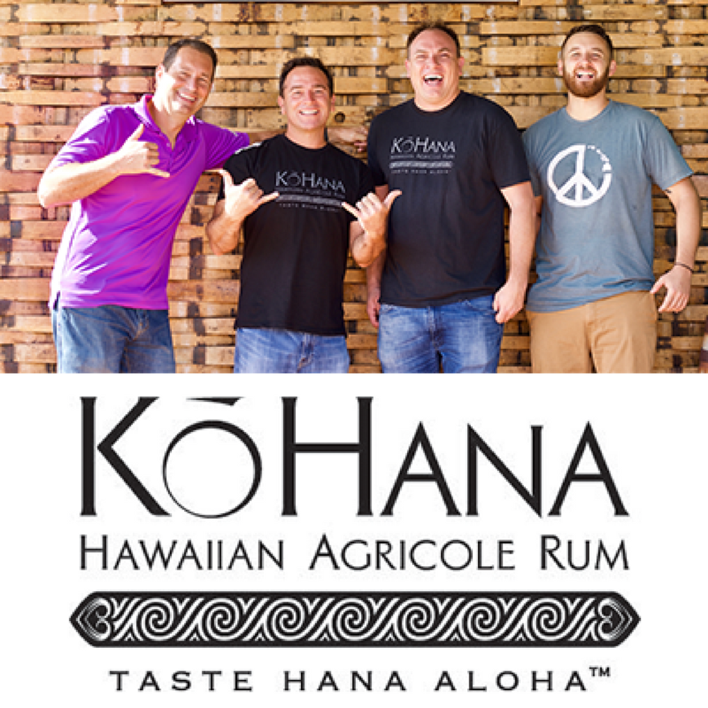 KōHana Rum   KōHana Rum is a farm to bottle, small batch Hawaiian agricole rum. All of their rums are first-hand harvested and pressed to juice before the heirloom canes are distilled to perfection. Based in Kunia,KōHana Rum offers tastings and tours at its distillery.   Learn more