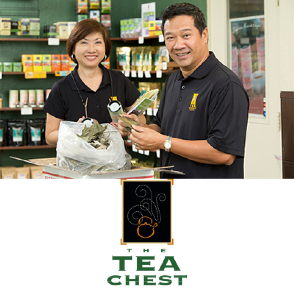 The Tea Chest    Tea Chest is a tea company with a passion for refined taste and a distinct sense of place. Using natural organic and sustainable ingredients, Tea Chest makes a variety of hot and cold brew teas.   Learn more
