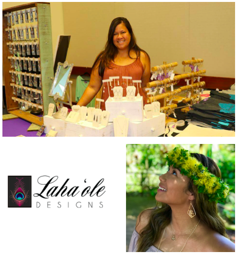 Laha'ole Designs   Lahaʻole Designs, created in 2013 in a little grass shack in Wahiawā, Oʻahu, creates classically handmade laha'ole (uncommon) jewelry and clothing that share stories of Hawaiian culture and things fond to Hawai'i Nei.   Learn more