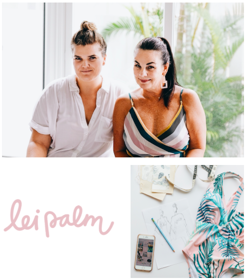 lei palm   lei palm is a tropically inspired collection of clothing, accessories and gifts curated in Hawai'i. lei palm collaborates with local artists to expand their global reach through exclusive fashion pieces and collectibles.   Learn more