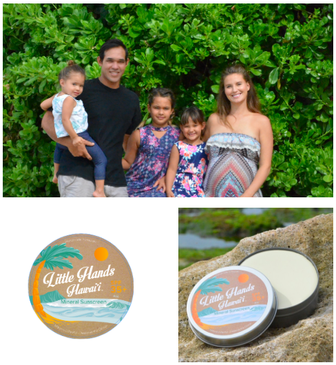 Little Hands Hawaii   Little Hands is Hawaii's original reef-friendly baby-safe sun protection company made with the highest quality ingredients. Little Hands spreads awareness on preserving coral reefs and provides the safest sunscreen for your entire ohana.   Learn more