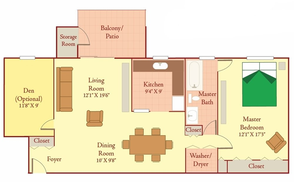 Briarcliff East Floor Plan