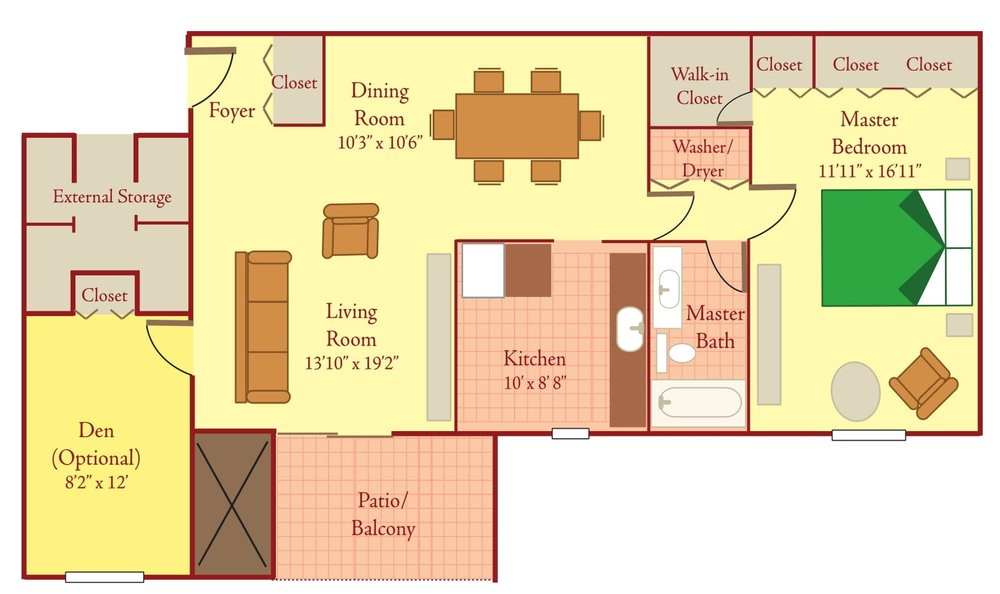 Briarcliff North Floor Plan