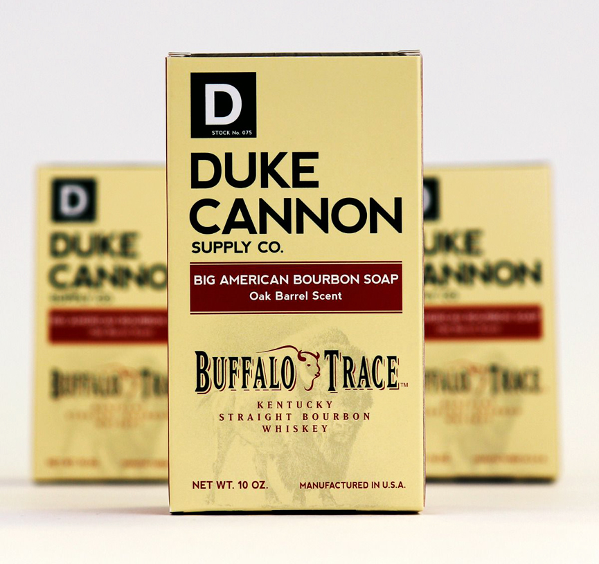 Duke Cannon and Buffalo Trace Big American Bourbon Soap - Oak Barrel Scent