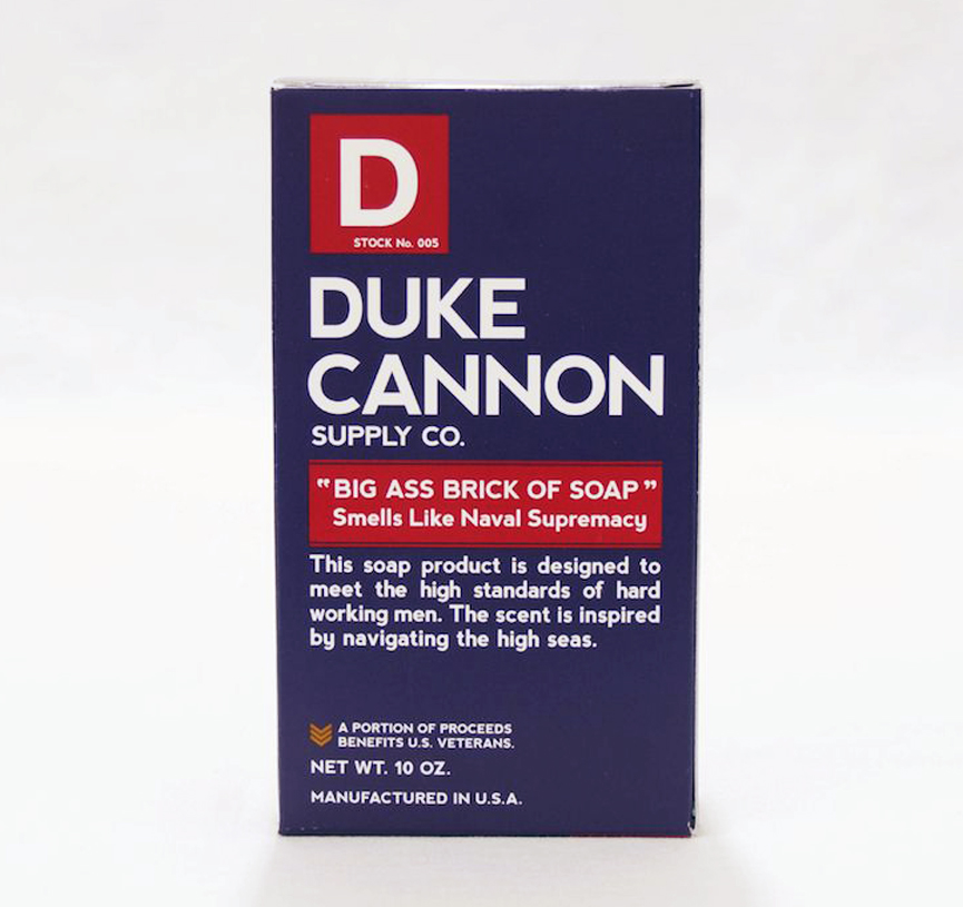 Duke Cannon Big Ass Brick of Soap - Smells Like Collection