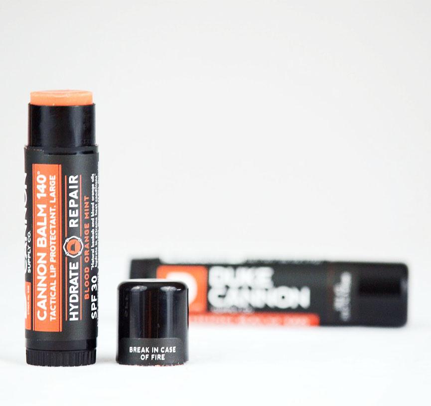 Duke Cannon Cannon Balm 140 Tactical Lip Protectant