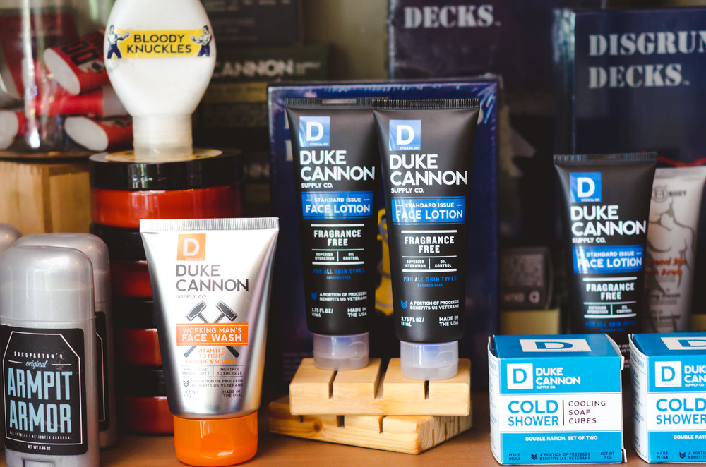 Duke Cannon Grooming for Men