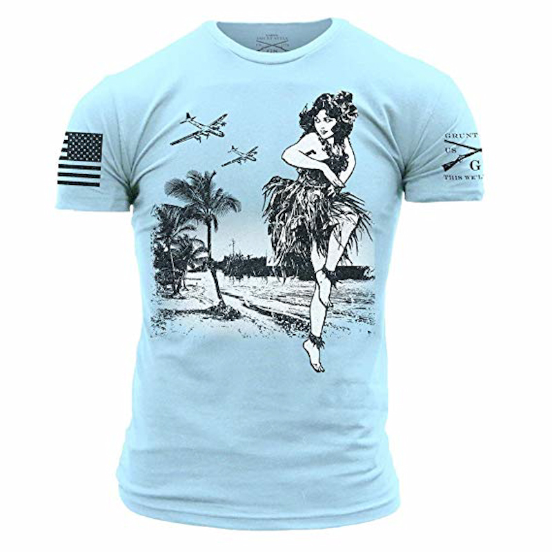 Grunt Style Hula Men's T-Shirt