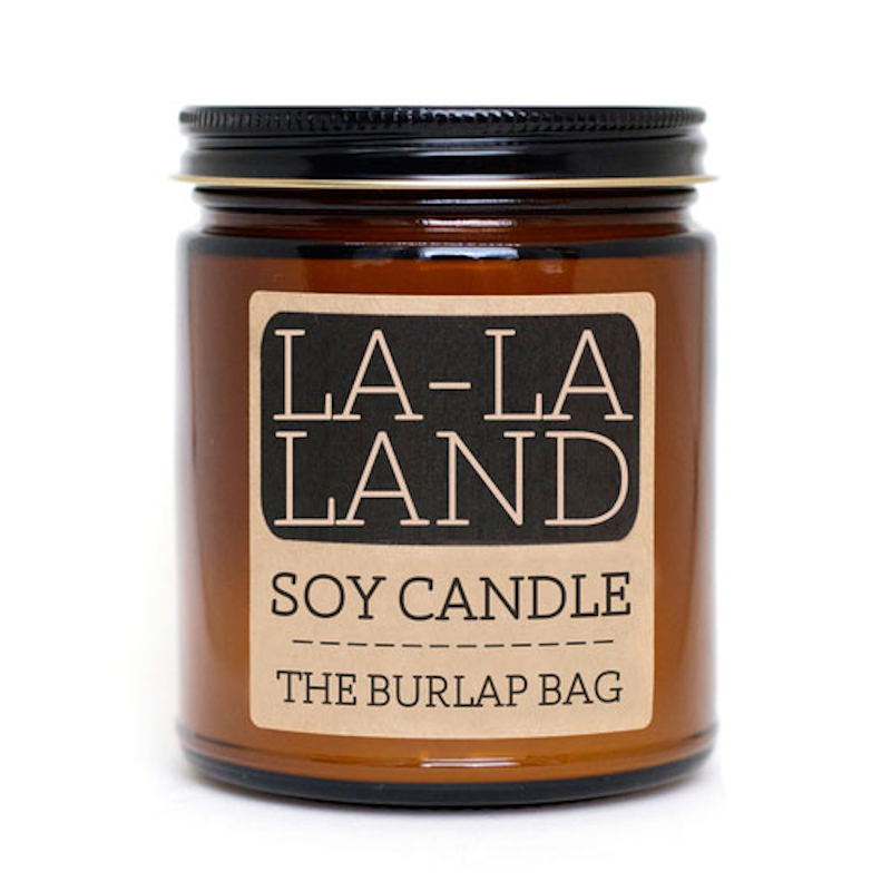 The Burlap Bag La-La Land Soy Candle