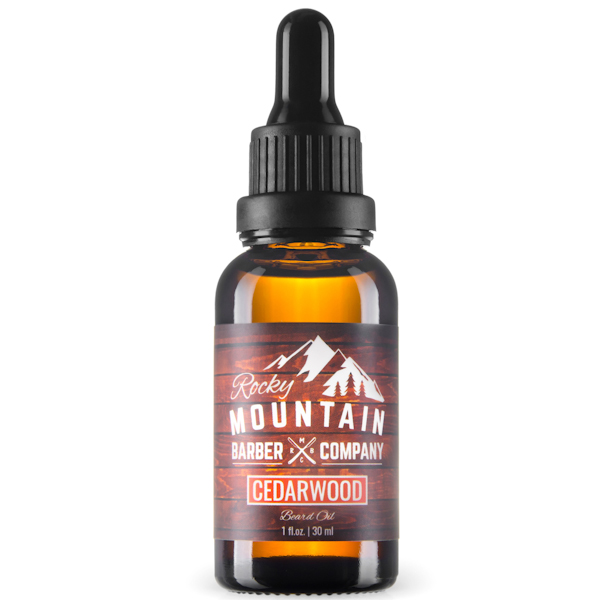 Rocky Mountain Barber Cedarwood Beard Oil