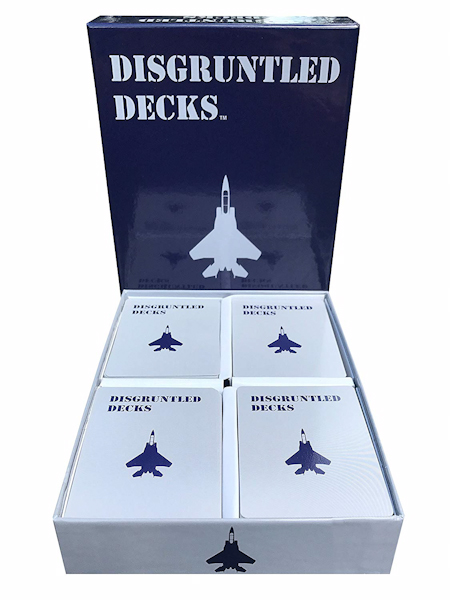 Disgruntled Decks Air Force Pack