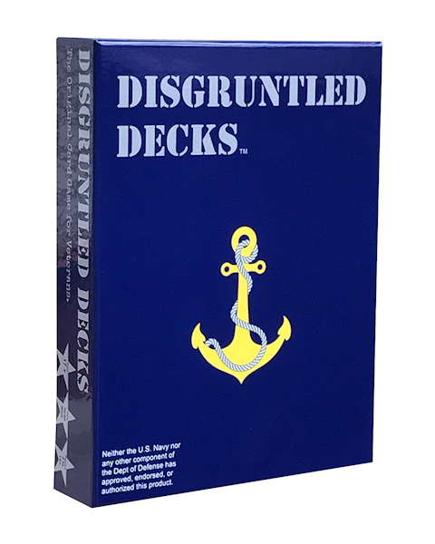Disgruntled Decks Navy Pack