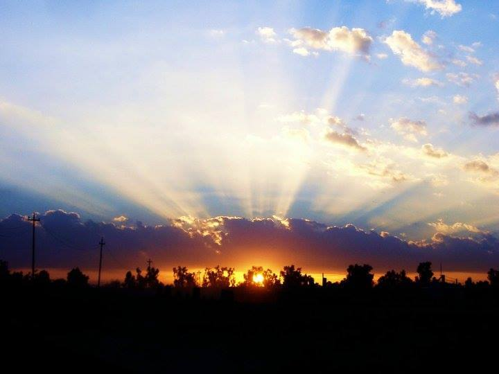 Taken Around OCT 2005----War Zone Beauty------Mosul, Iraq One of the most beautiful sunset i have seen to date