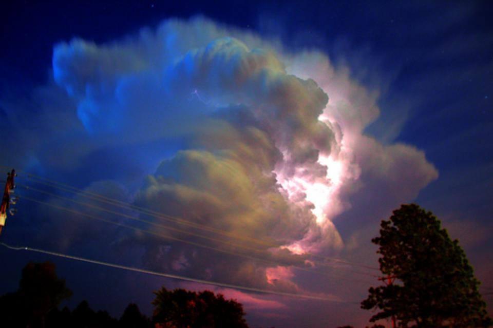 Skull of Lightning! Kearney NE  May 2011