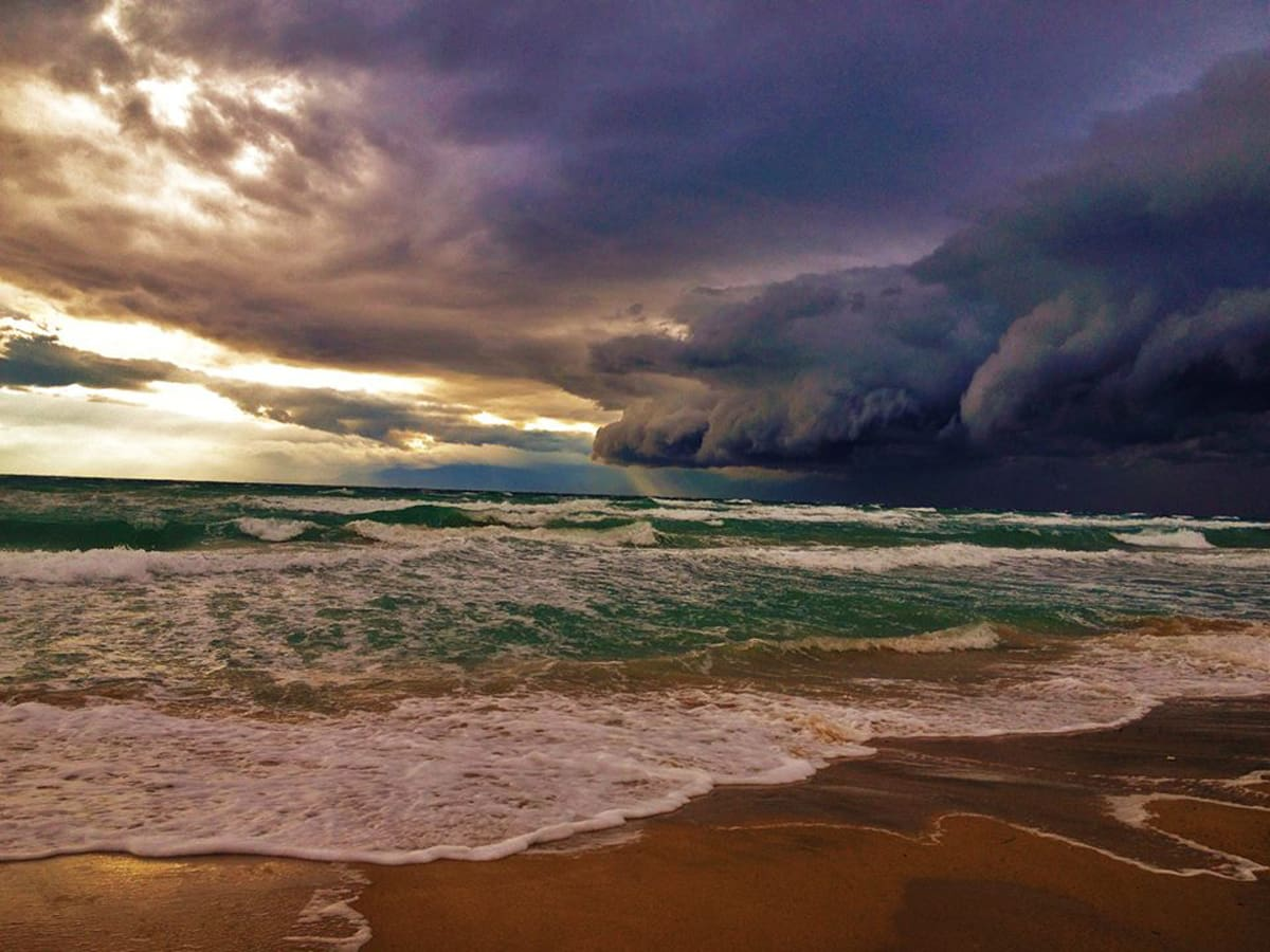 """Great silence before the storm"" Massive storm approaching once again Halkidiki, Greece!! Enjoy!"
