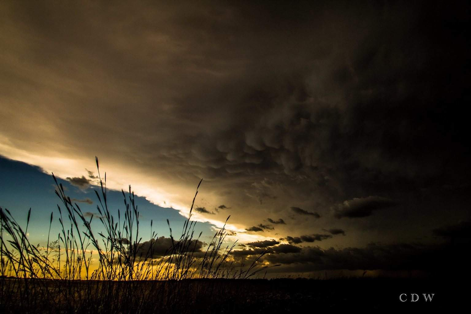 2013 storm over Eldorado KS
