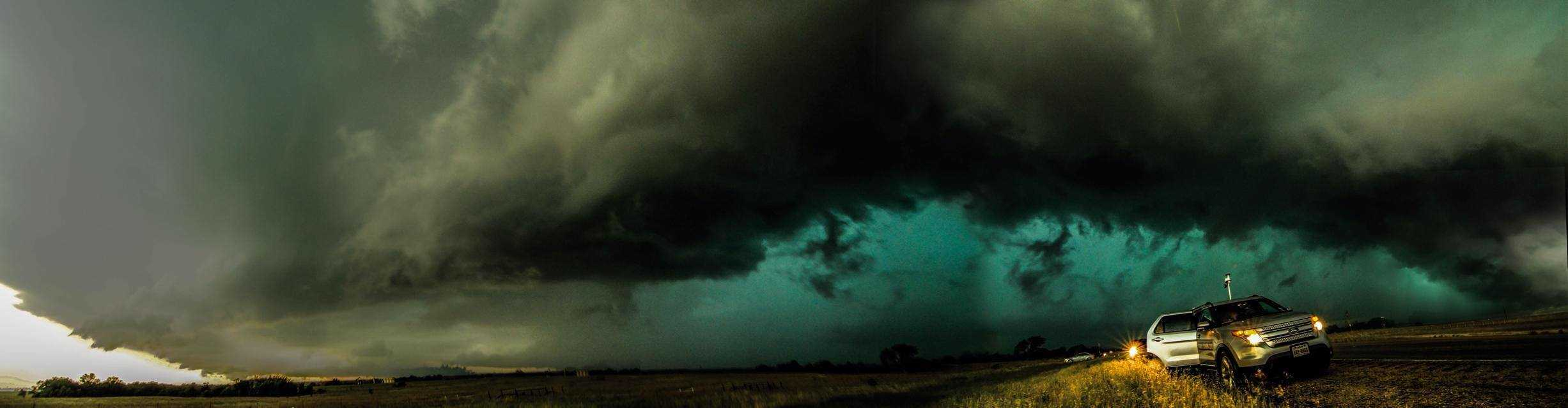 HP Supercell near Gainesville TX May 2013
