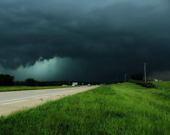 This was in northeast Oklahoma on 5/20/13.