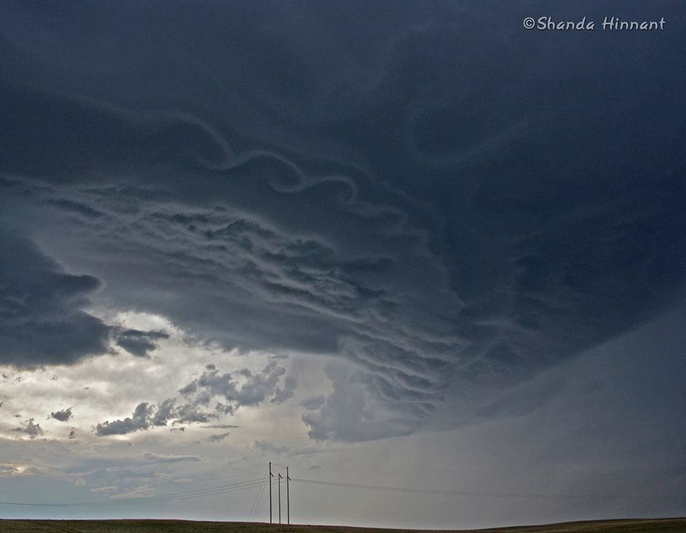 Kelvin-Helmholtz clouds - May 17, 2013 Near Sturgis, SDq
