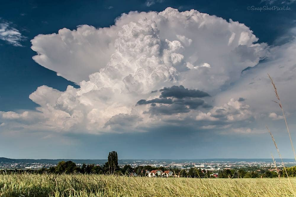 Powerfull updraft, taken 2013 in eastern part of germany. Close to border to the czech republic