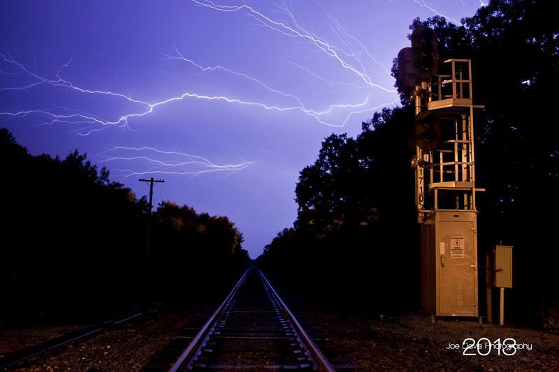 Thanks for adding me to the group! I'm Joe Davis...a lightning photographer from east-central Wisconsin...
