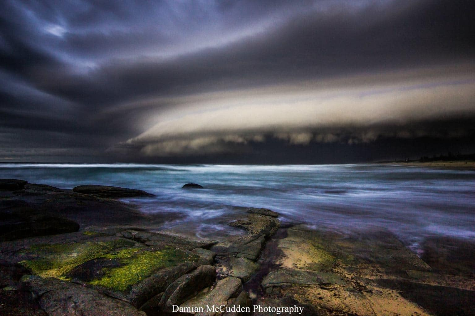 This is how Australia does it  Epic storm front on The Sunshine Coast today  Got this from Point Cartwright facing south towards Caloundra.  Iso200 | f5 | 6secs | 11mm |