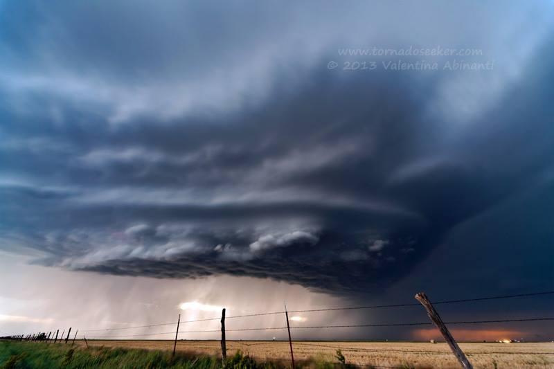Supercell near Booker, Texas. June 3rd 2013.