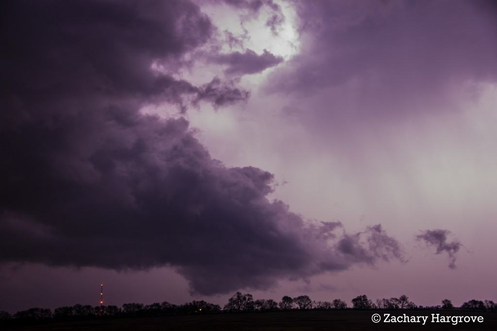 Storm Chase Ardmore Oklahoma Supercell