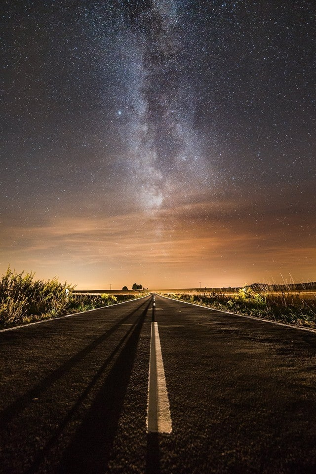 Amazing Milky Way as you can't see it very often in light-polluted Mid-Germany.